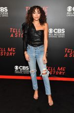 "Ashley Madekwe At ""Tell Me a Story"" Season 2 Nashville Premiere at Ford Theater at Country Music Hall of Fame"