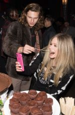 Avril Lavigne and G-Eazy party at the birthday bash of G-Eazy