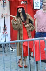 Bai Ling At her autograph signing at the Chinese Theater in Hollywood