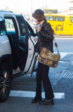 Bella Hadid At JFK airport in New York