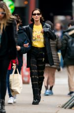 Bella Hadid Out for a stroll in SoHo, New York City