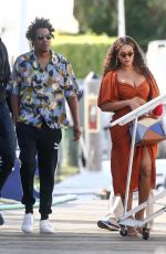 Beyonce At a local marina in Fort Lauderdale