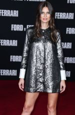Bianca Balti Arrives at the FORD v FERRARI Los Angeles Screening held at the TCL Chinese Theatre in Hollywood