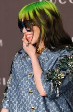 Billie Eilish At LACMA Art and Film Gala, Arrivals, Los Angeles