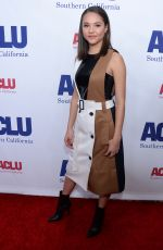 Breanna Yde At ACLU Bill of Rights Dinner, Arrivals, Beverly Wilshire, Los Angeles