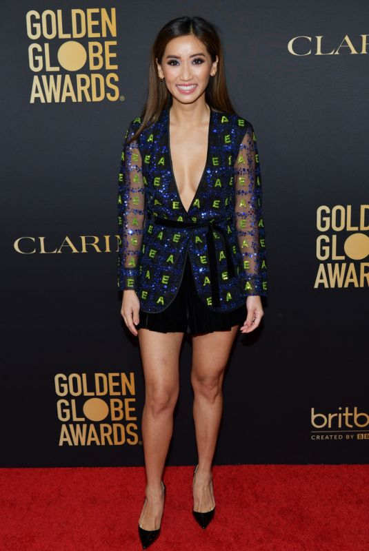 Brenda Song At HFPA And THR Golden Globe ambassador party in West Hollywood