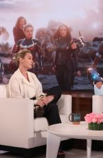 Brie Larson At The Ellen DeGeneres Show