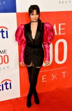 Camila Cabello At Time 100 Next at Pier 17 in New York City
