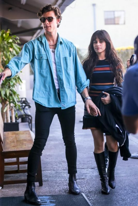 Camila Cabello Out for lunch in LA