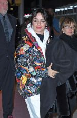 Camila Cabello Steps out in a colorful jacket and platform shoes in Manhattan