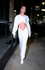 Candice Swanepoel Out in Tribeca