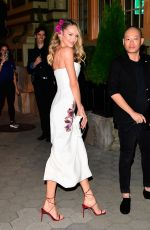Candice Swanepoel Outside Cipriani in NYC