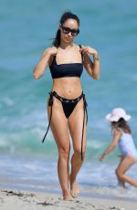 Cara Santana On the beach in Miami