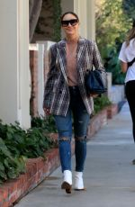 Cara Santana Seen out an about on Melrose Place in West Hollywood