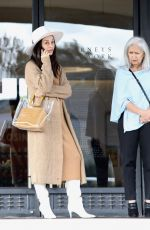 Cara Santana Shopping with her mom at the Barney