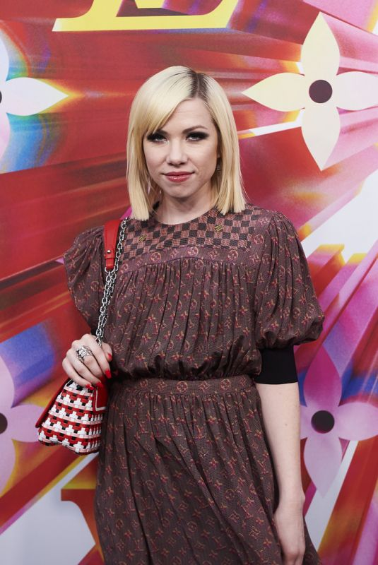 Carly Rae Jepsen At Louis Vuitton Flagship Store Re-Opening in Sydney