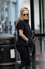 Caroline Flack With her boyfriend Lewis Burton out in London after the couple enjoyed some brunch at local cafe in North London
