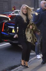 Carrie Underwood Arriving at Good Morning America in NYC