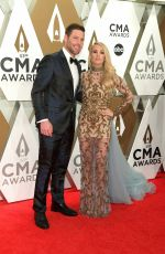 Carrie Underwood At 53rd annual CMA Awards at the Music City Center in Nashville