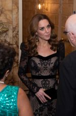Catherine Duchess of Cambridge At Royal Variety Performance At The London Palladium