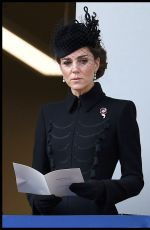 Catherine, Duchess of Cambridge Attends the annual Remembrance Sunday memorial in London