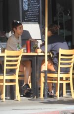 Chantel Jeffries Grabs lunch with a friend in Hollywood