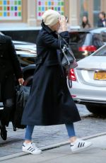 Charlize Theron Arrives at the Crosby Hotel in New York City