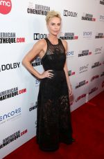 Charlize Theron At 33rd American Cinematheque Award Presentation in Beverly Hills