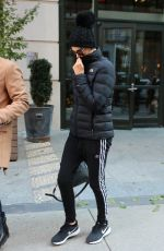 Charlize Theron Seen exiting her hotel in New York