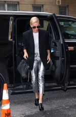 Charlize Theron Steps out looking chic in New York