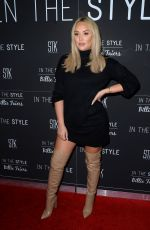 Charlotte Crosby At InTheStyle Billie Faiers Dinner at STK The Strand in London