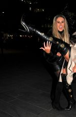 Charlotte Dawson Arriving at The Ivy Restaurant in Manchester
