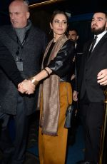 Cheryl Cole Leaving Bagatelle London after Attending Kimberley Walsh