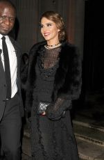 Cheryl Cole Leaving the Freemasons Hall in Covent Garden