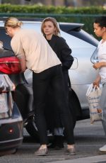 Chloe Grace Moretz Fills her trunk after a trip to a celebrity gifting suite with her brother Trevor in Beverly Hills