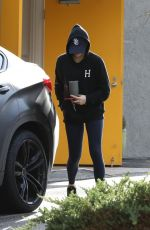Chloe Grace Moretz Returns to her car after her workout in West Hollywood