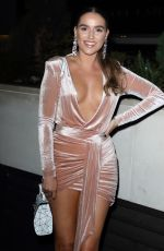 Chloe Ross Attends the London Lifestyle Awards 2019 at the Intercontinental Hotel, Park Lane in London