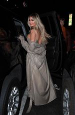 Chloe Sims Leaving dinner with friend Vas Morgan to TAO in Hollywood