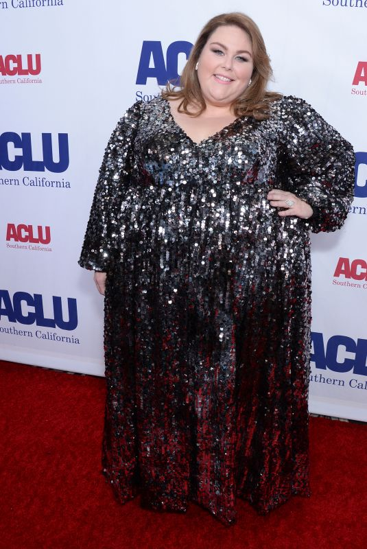Chrissy Metz and Diane Warren At ACLU Bill of Rights Dinner, Arrivals, Beverly Wilshire, Los Angeles