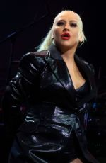 Christina Aguilera At The X Tour in London