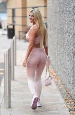 Christine McGuinness At EveryBody Gym in Cheshire