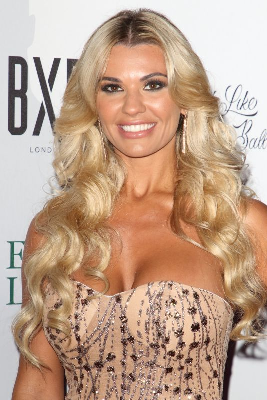 Christine McGuinness Attends the Caudwell Children Float Like A Butterfly Ball at the Grosvenor House in London