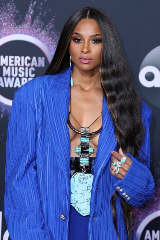 Ciara At 2019 American Music Awards held at the Microsoft Theatre