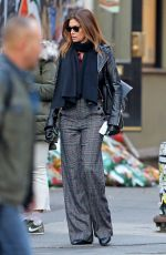 Cindy Crawford and Rande Gerber are pictured on a stroll in NY