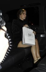 Coleen Rooney Leaves Rosso Restaurant in Manchester