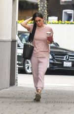Courteney Cox Treats herself to a nail salon visit while out hanging out with a girlfriend in Beverly Hills
