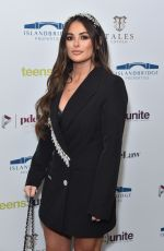 Courtney Green Attends the Teens Unite annual fundraising gala held at the Rosewood Hotel in London