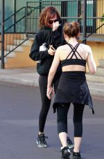 Dakota Johnson Out after hitting the gym with a friend in Studio City