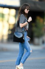 Dakota Johnson Out in Los Angeles