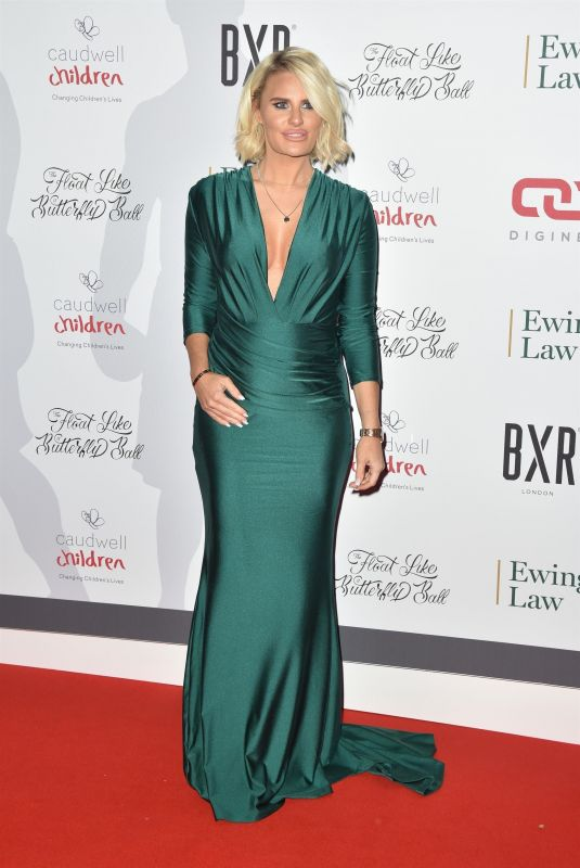 Danielle Armstrong At Float Like A Butterfly Ball, Grosvenor House Hotel, London
